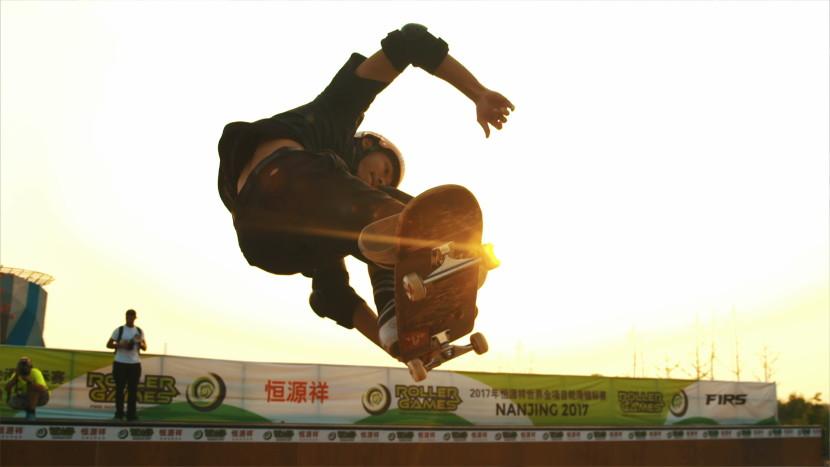 Skateboarding Nanjing